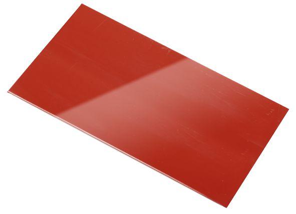 Cliché fotopolimero rosso
